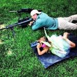 [image du jour] Mon papa est sniper !