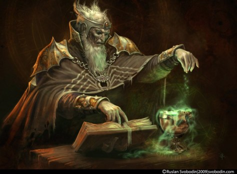 Illustration de fantasy : necromant_by_ruslayer