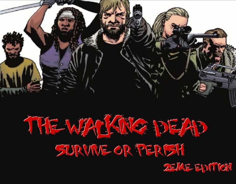 Téléchargez The Walking Dead: Survive or Perish - jeu de rôle
