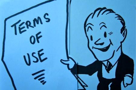 terms of use cartoon