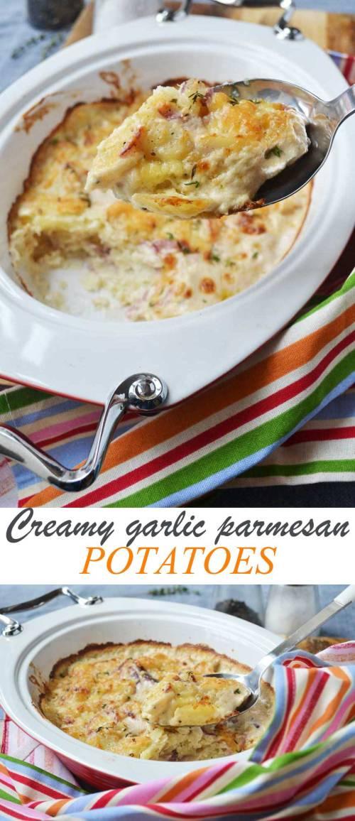 Stupendous Creamy Garlic Parmesan Potatoes Creamy Garlic Parmesan Potatoes Sc Lane Garlic Parmesan Potatoes Stove Garlic Parmesan Potatoes Wedges Tasty