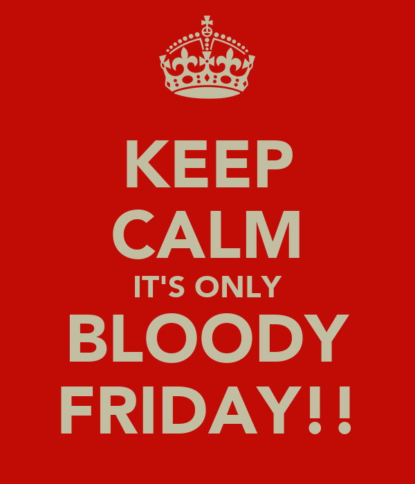 Poster do filme Bloody Friday