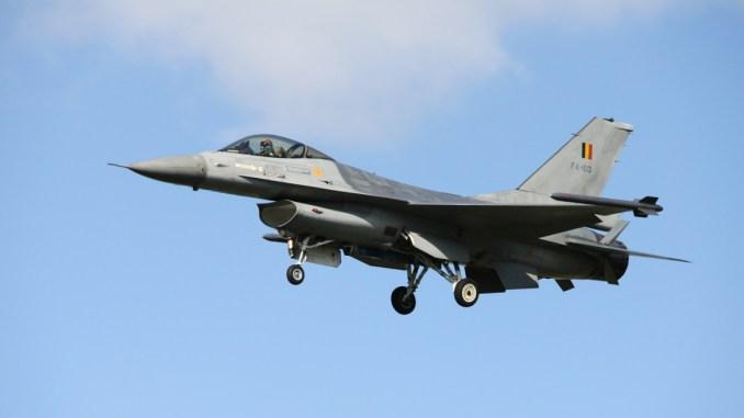 مقاتلة اف 16 البلجيكية