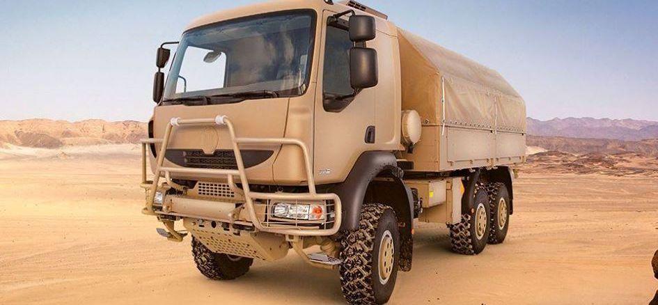 شاحنة T 810 - 1R0R26 6×6.1R