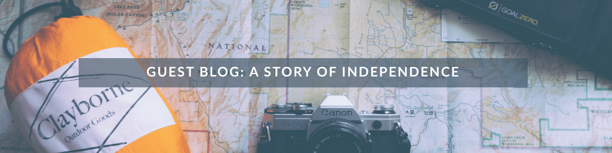 Guest Blog: How Graham Began To Travel Independently
