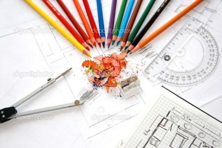depositphotos 2582806 workplace of designer interior