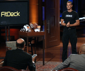 shark tank phil black fitdeck