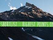 ShortList : Highest Points on Earth