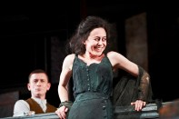 The Plough and the Stars 2012 Abbey Theatre, Tony Flynn and Kate Brennan, Photo Credit Ros Kavanagh