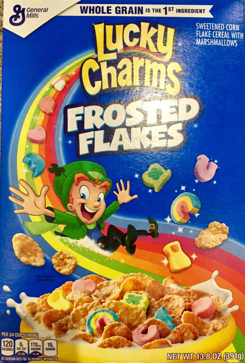Large Of Lucky Charms Frosted Flakes
