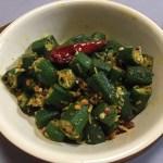 【レシピ】ご飯のおかずにGood!オクラのポリヤル(南インド料理)