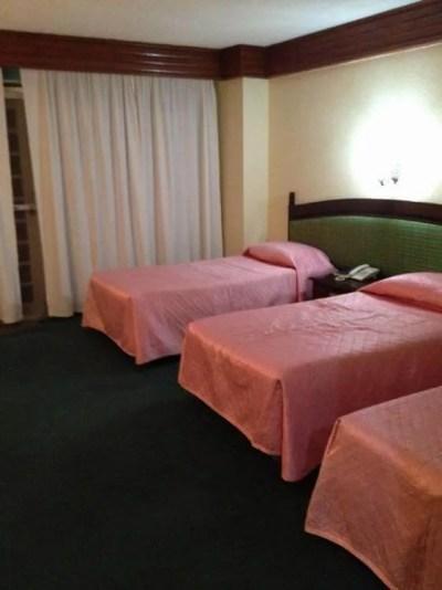 フィリピン、バナウェ。バナウェホテルの部屋