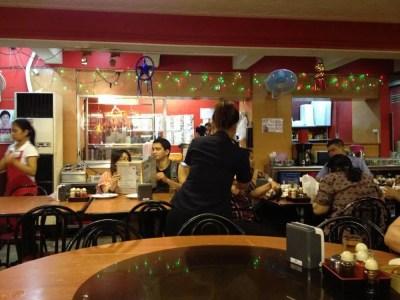 フィリピン、マニラ。中華料理を食べる。チャイナタウン