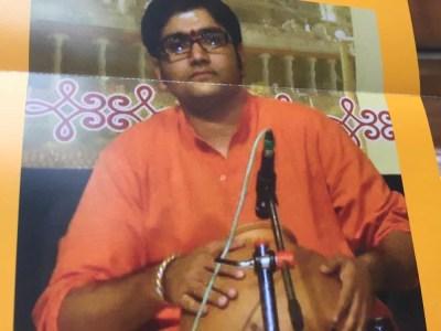 南インド古典音楽公演