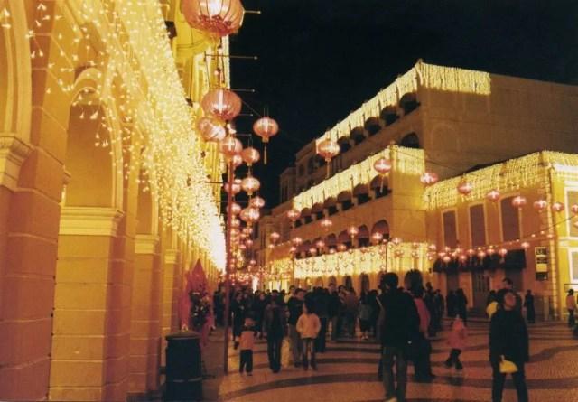 旧正月のマカオ(澳門)の風景【マカオ】