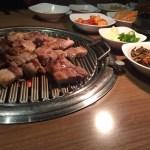 お野菜たっぷり、ヘルシーサムギョプサル『やさい村大地』@赤坂