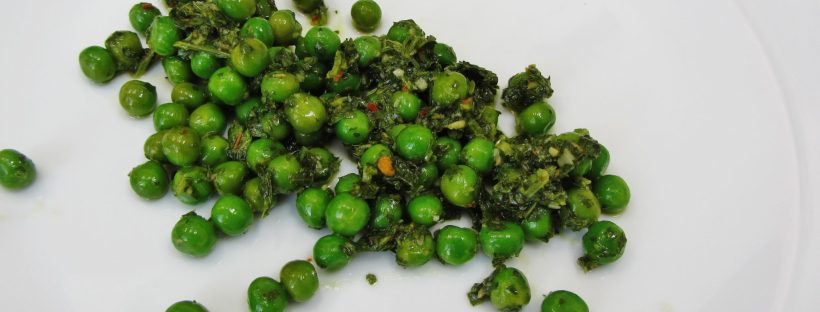 chimichurri peas