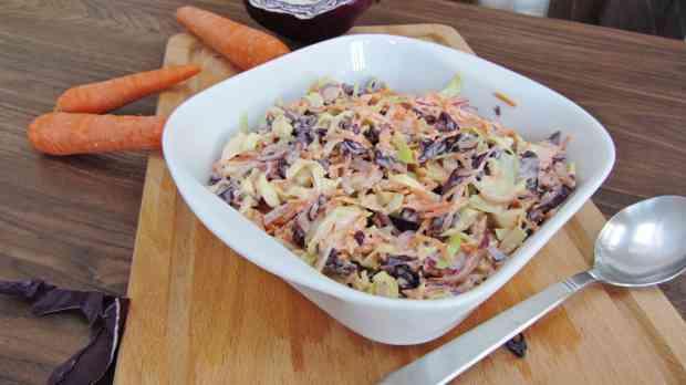 Char siu coleslaw