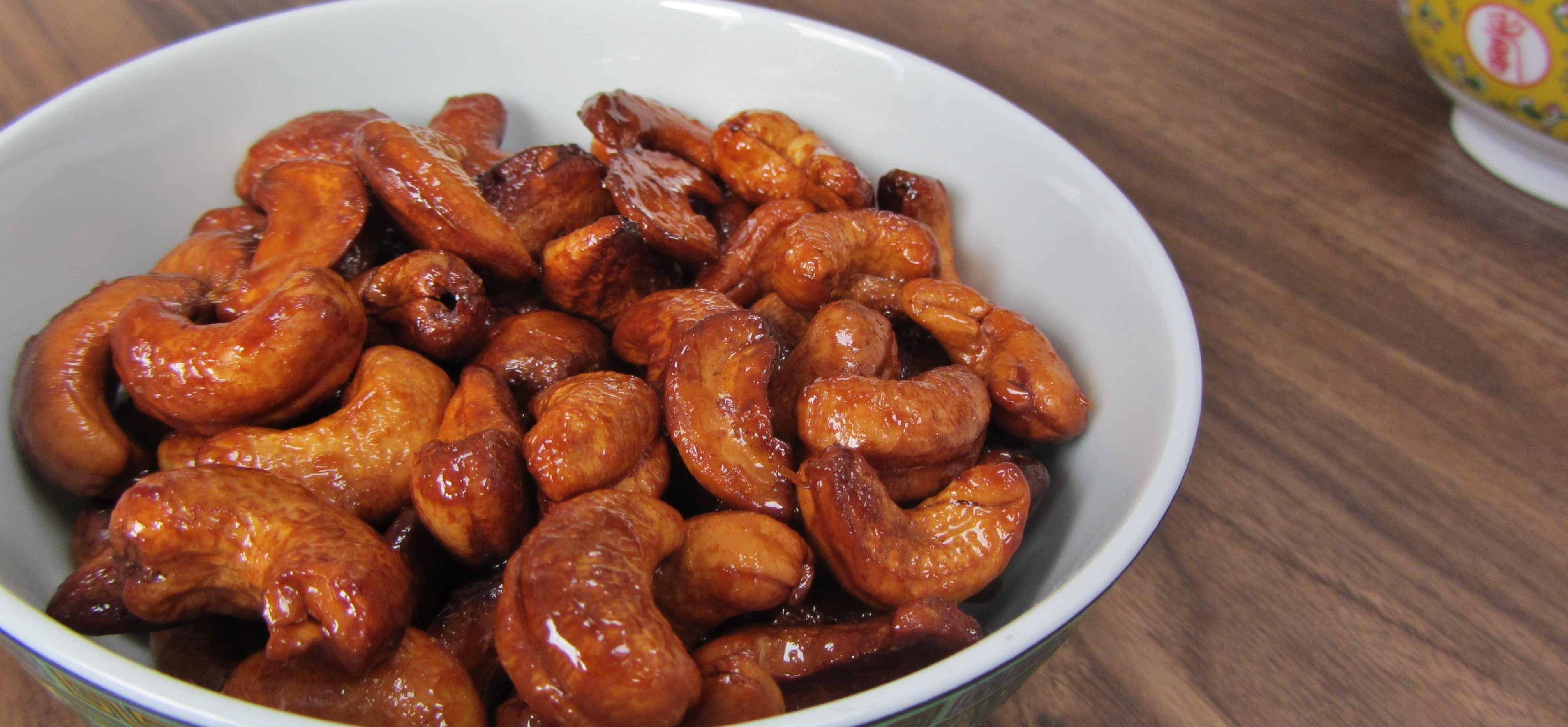 Honey Roasted Cashew Nuts - Searching for Spice