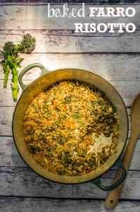 Purple-Sprouting-Broccoli-Farro-Risotto-Bake