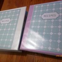 *My Recipe Books