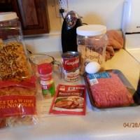 Meatballs & Gravy over Egg Noodles