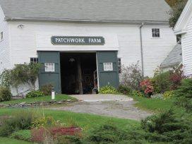 Patchwork Barn in Washington, Maine