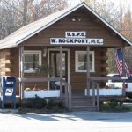 Post Office in W. Rockport, Maine