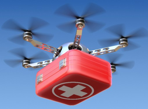 Drones Might Fly Blood Samples to Clinics, Study Finds