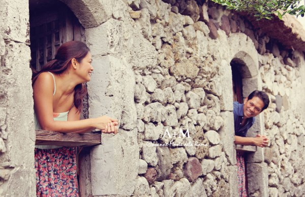 At the oldest stone house in Basco, Batanes.