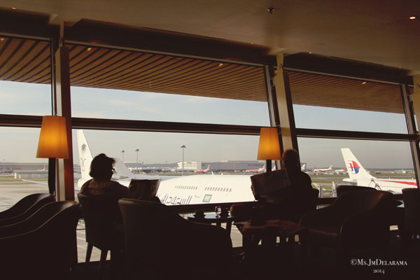 Malaysia Airlines Golden Lounge Satellite in KL
