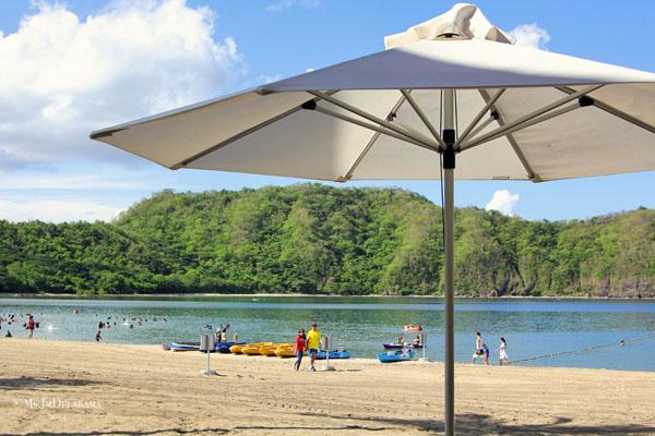 Pico de Loro's beach