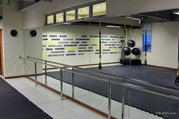 combat room workout exercise treston health club fort bonifacio taguig