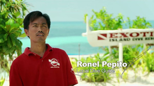 Check out this Local Dive Guide - Ronel Pepito story on the video