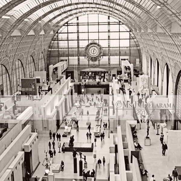 musee d'orsay museum paris art photography black and white