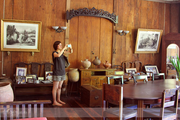 """My interior designer friend was also entertained by the house's """"Architecture Mestiza"""" (of European and Asian) design and details."""