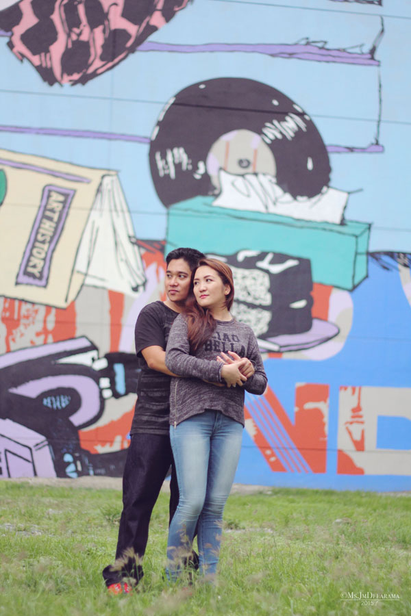 mural art couple lifestyle photography love