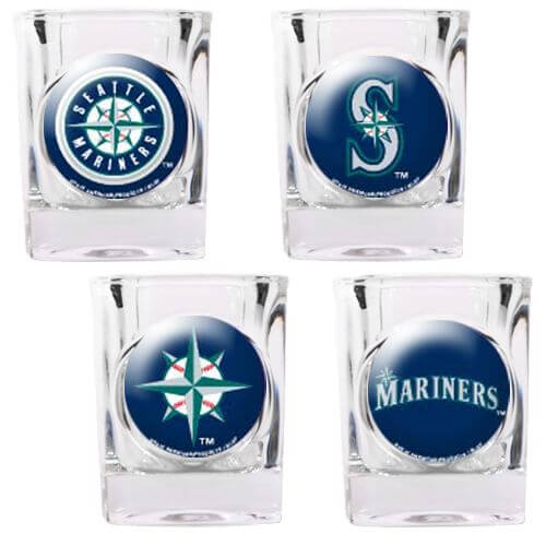 Seattle Mariners Glassware
