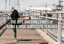 joys challenges yoga substitute teacher