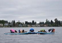 Seattle Yoga Meetup Aug 2016 child pose group