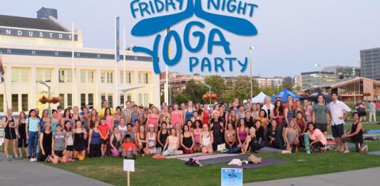 be luminous yoga friday night yoga party 2016