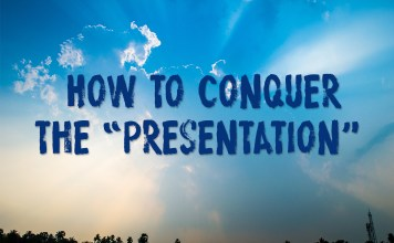 how to conquer the presentation nick goodman