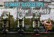 smart success tips yoga teachers silvia mordini