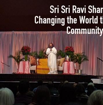 sri sri ravi shakar on community action