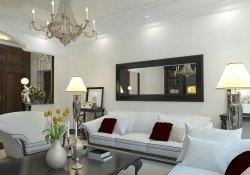 Small Of Mirror Living Room Ideas