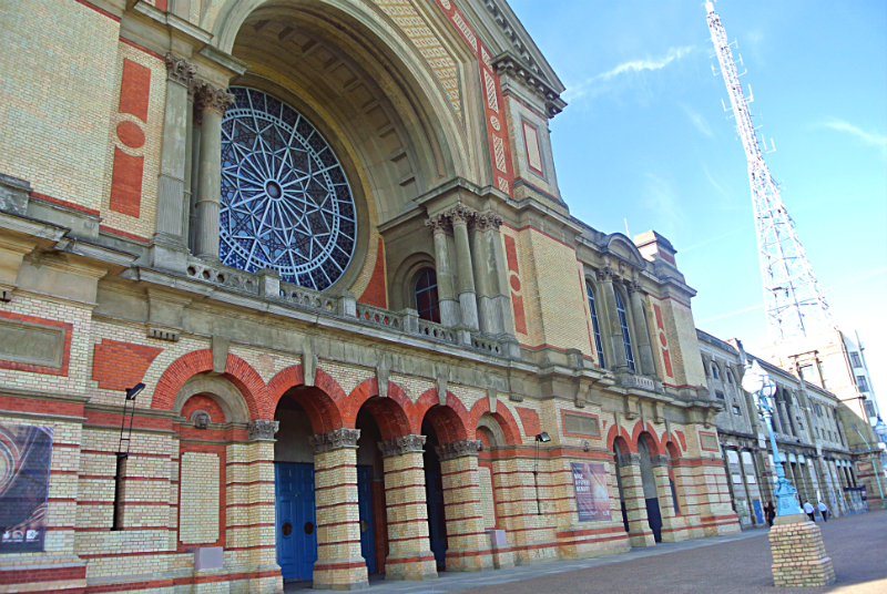 Alexandra Palace in London