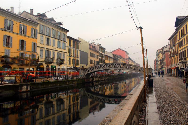 Navigli District in Milan