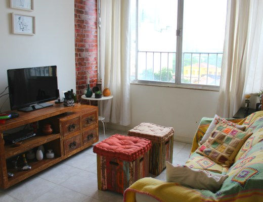 apartment in lapa - rio living room