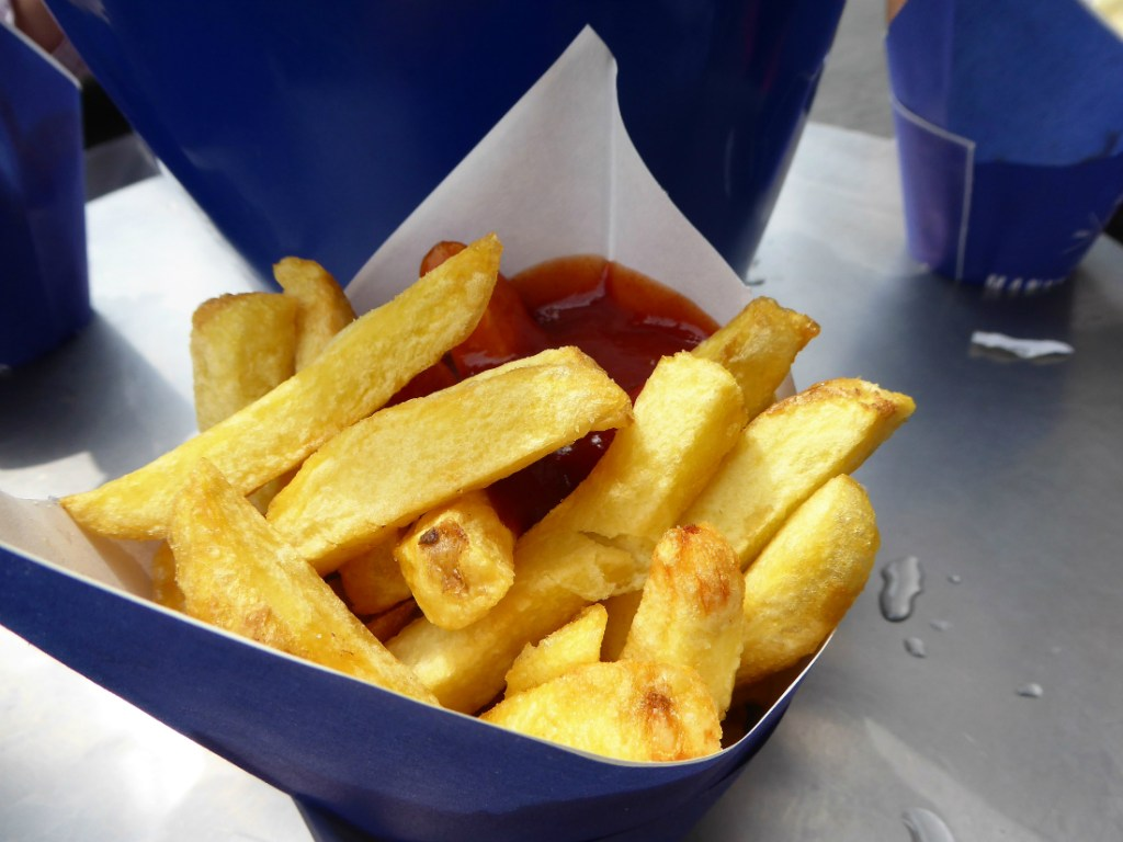 French fries in Amsterdam