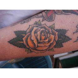 Small Crop Of New Rose Tattoo